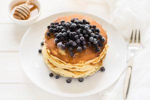pancake-myrtille